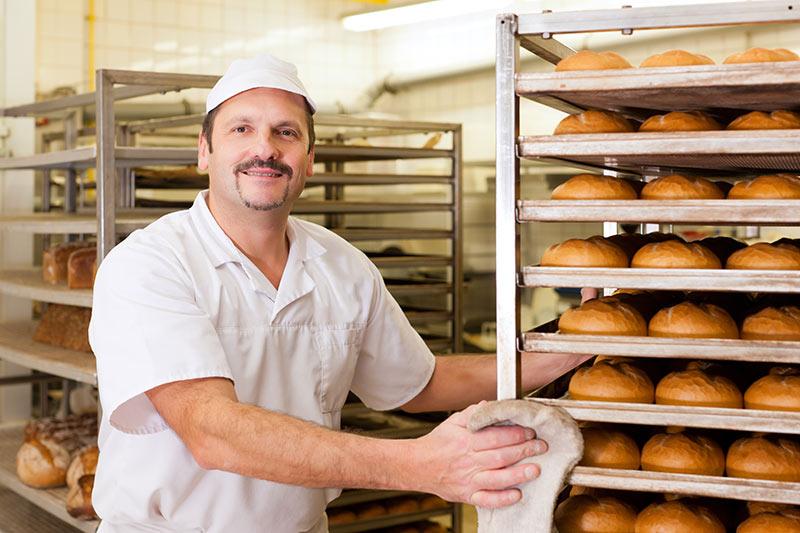 Lüftungssystem für Produktion und Bäckerei