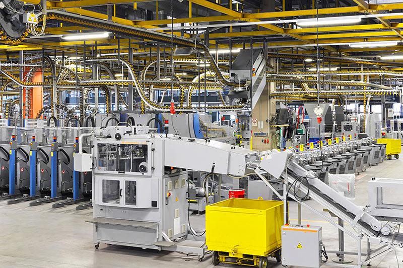 Lüftungstechnik und Klimatechnik in der Industrie