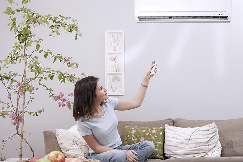 Klimaanlage und Heizung für Privathaushalte
