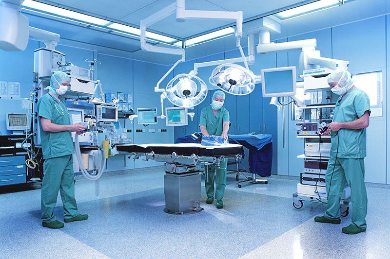 Luft- und Klimatechnik für Krankenhaus und Seniorenheim